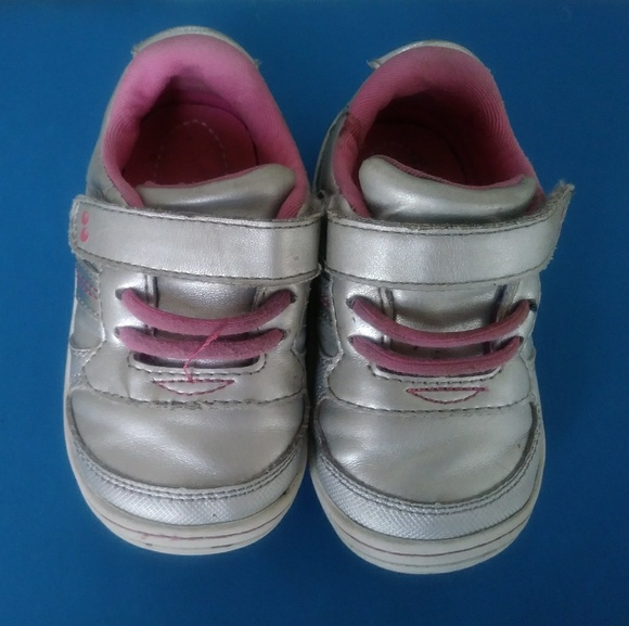 Stride Rite Silver Sneakers